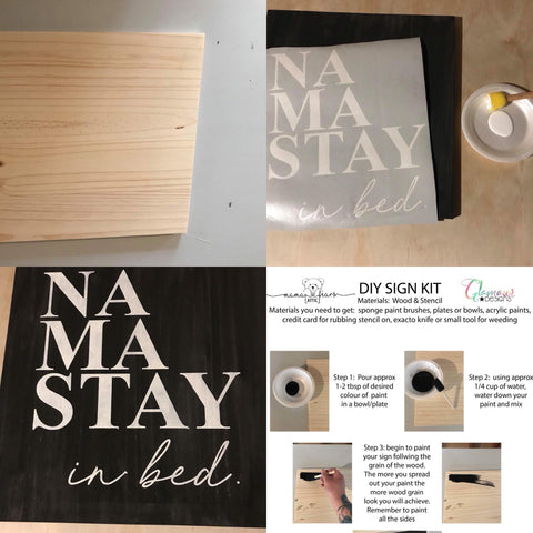 DIY Sign Making Kit