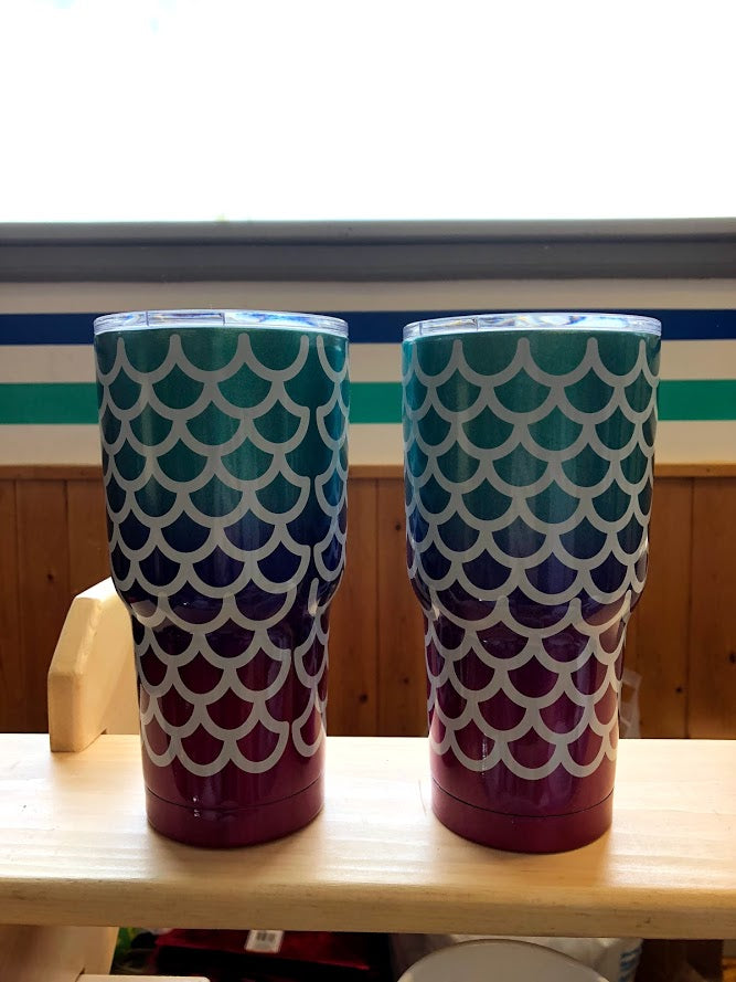 Mermaid 30oz Tumblers