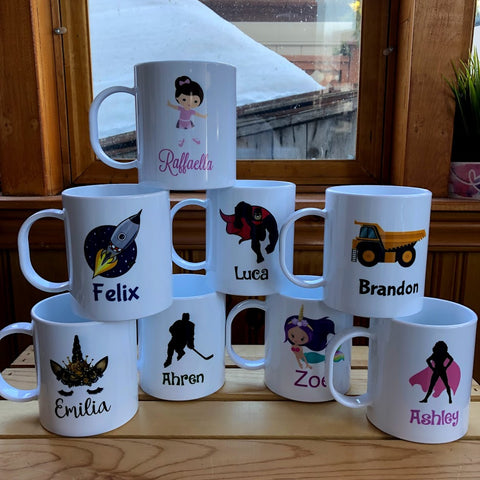 Kids Shatterproof Mugs
