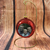 Custom Round Bulb Ornament