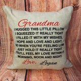 Custom Grandparent Pillow