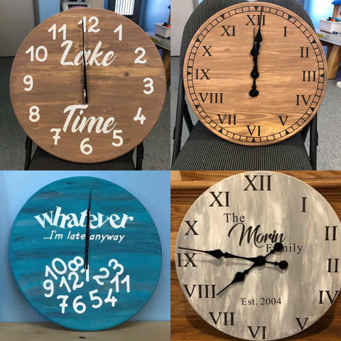 Farmhouse Clocks