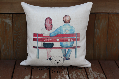 Sweethearts Pillow