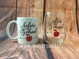 Teacher Mug and Glass Gift Set