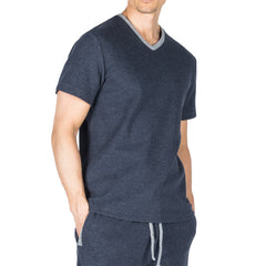 Sutherland Nova Knit S/S V-Neck Top