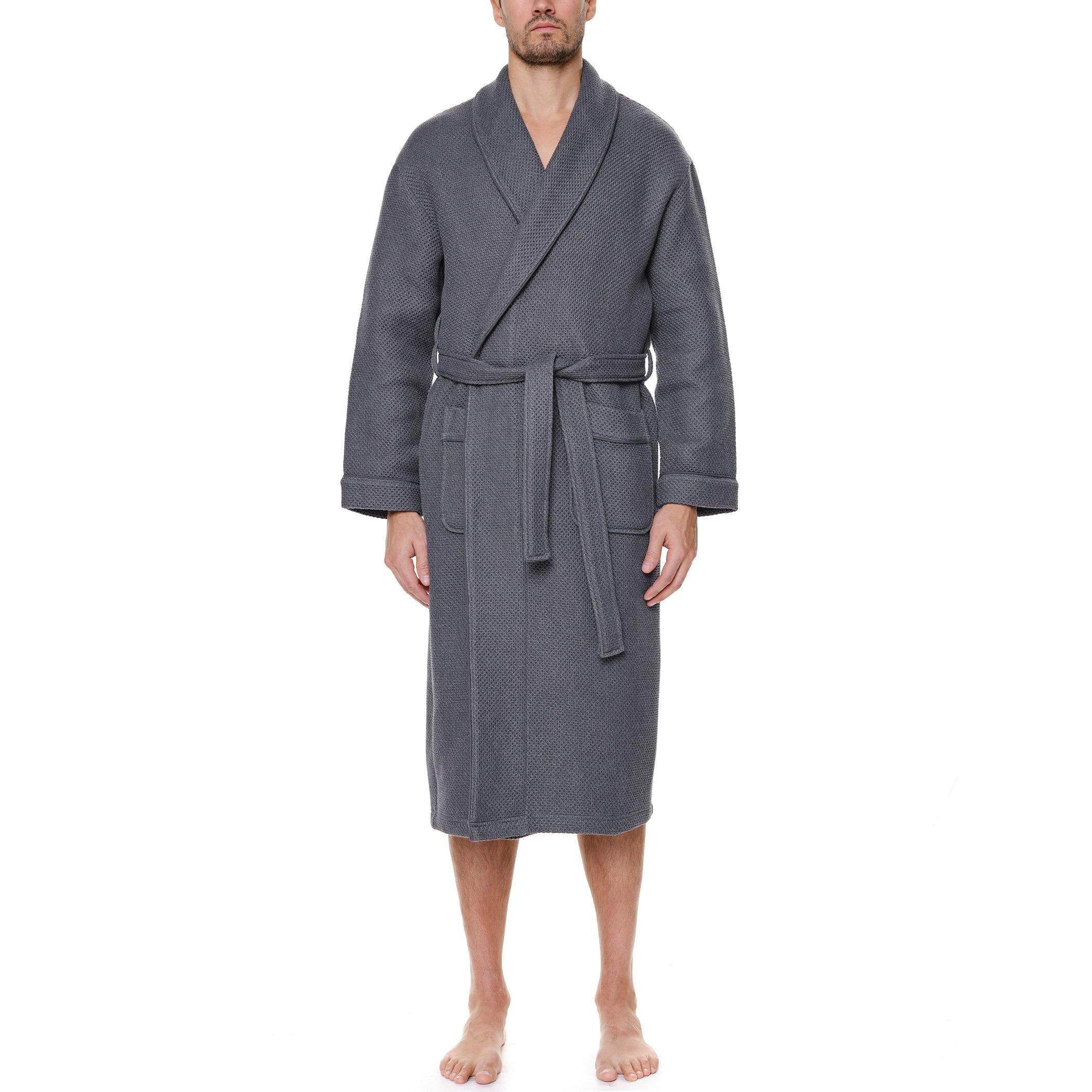 Weathered Honeycomb Robe