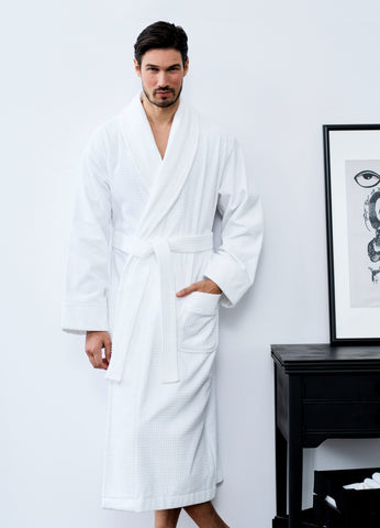 Cold Conquest Plush Shawl Robe