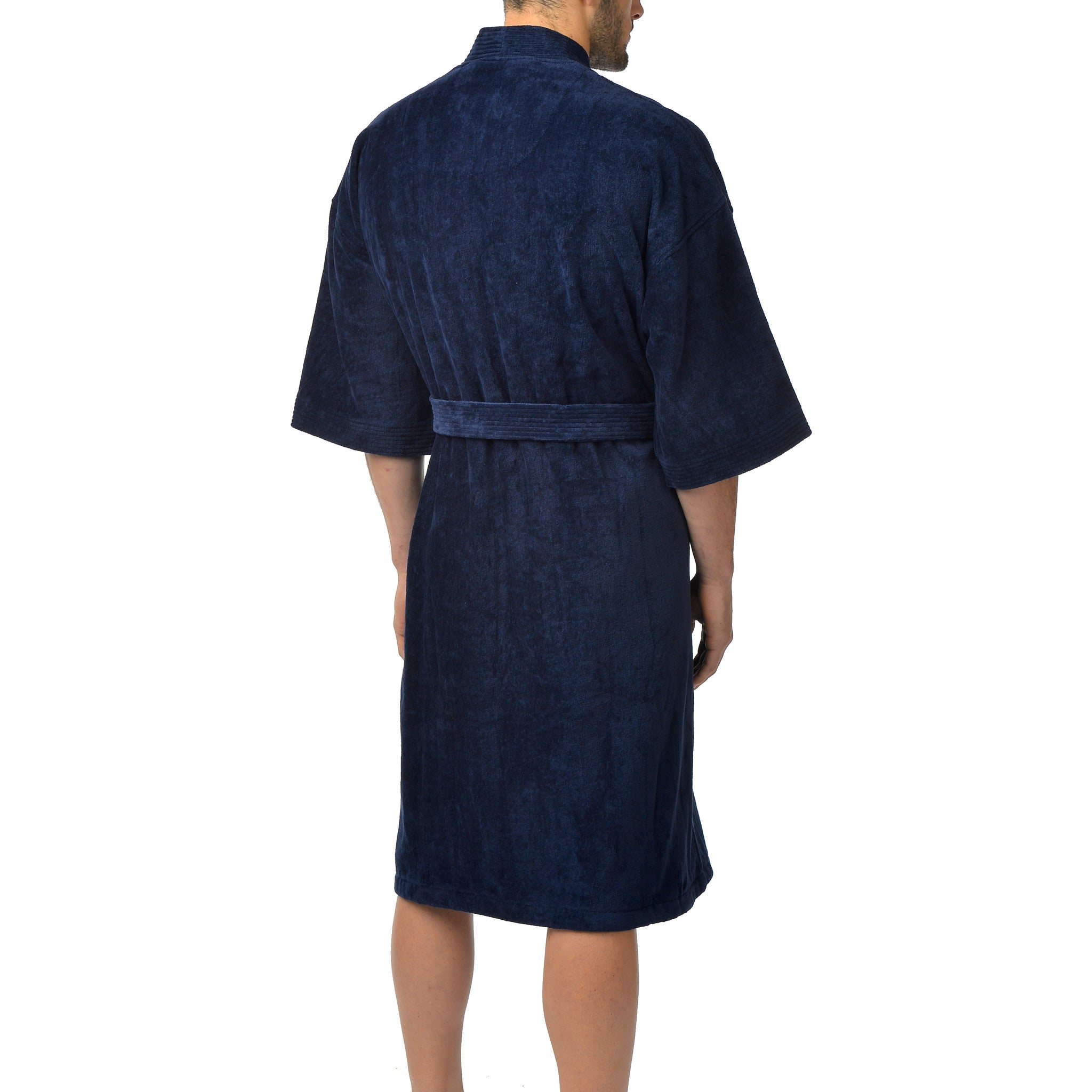 Big and Tall Basic Terry Velour Kimono