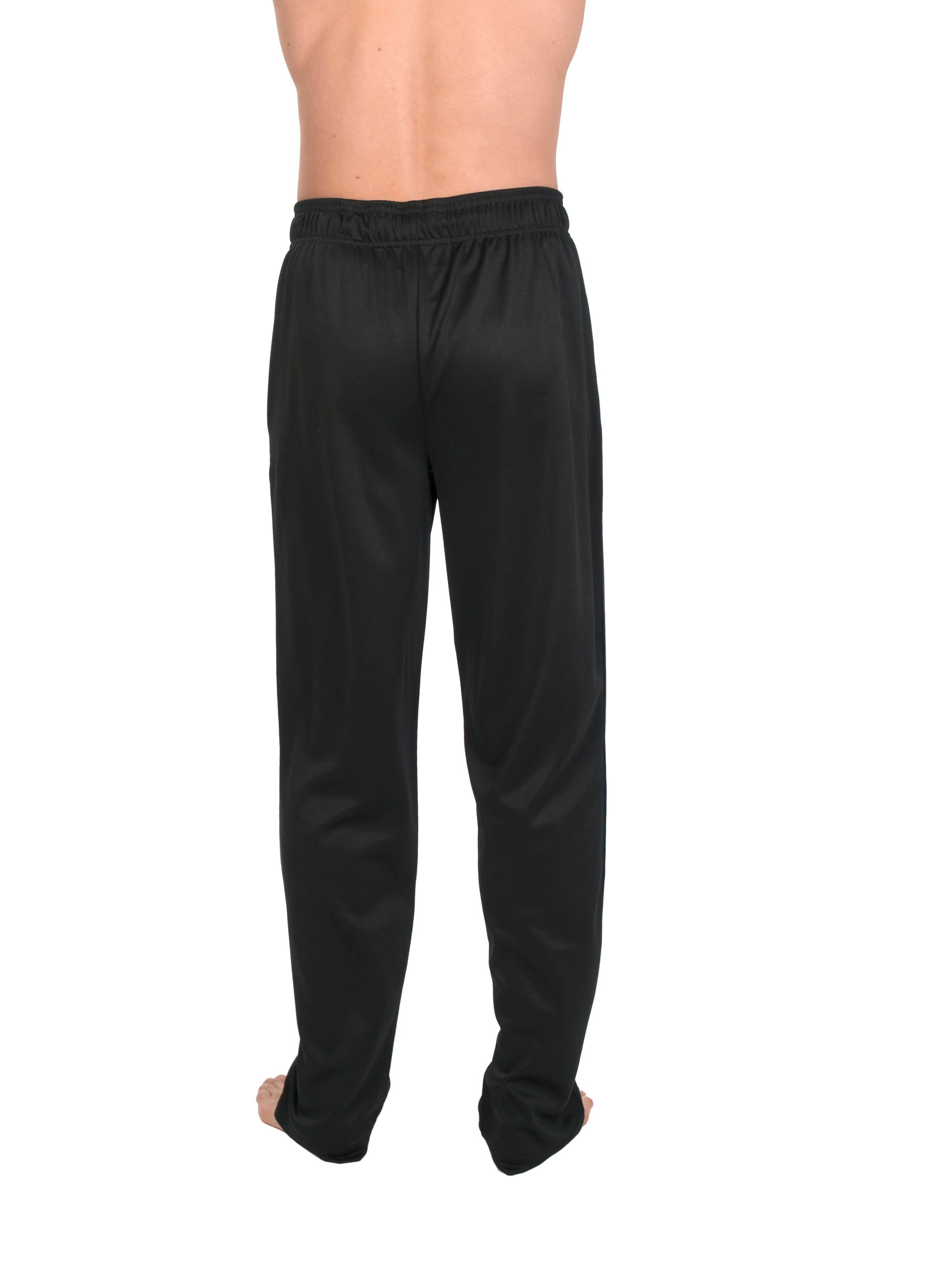 Big And Tall Work Out Elastic Waist Pant