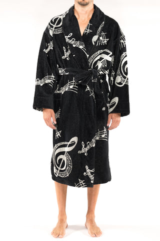Big And Tall Sun Soaked Seersucker Kimono