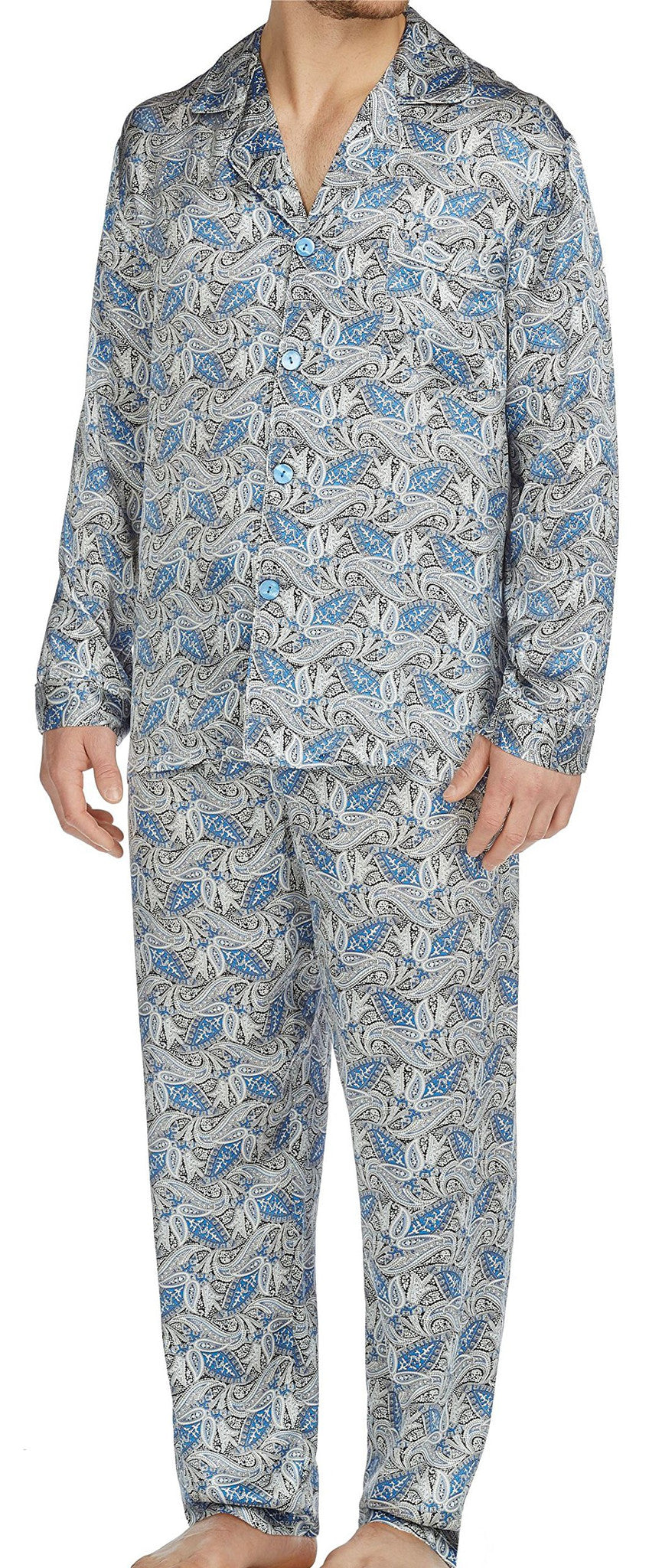 Cypress Silk Long Sleeve Pajama