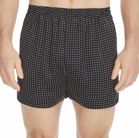 Polka Dot Silk Charmeuse Boxer Short