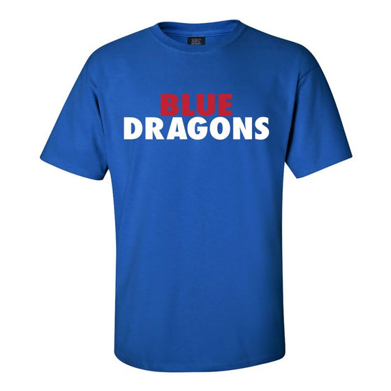 Power Dragon MV Sport Royal Tee