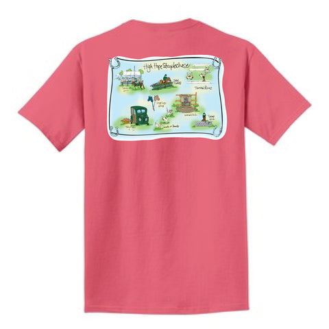 HHS Fruit Punch Map Tee