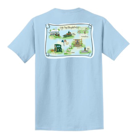 HHS Glacier Map Tee