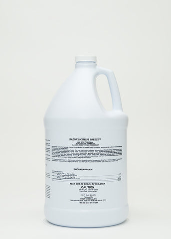 Razor Citrus Breeze Disinfectant Gallons