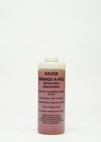Razor Orange-A-Peel Ration Pack