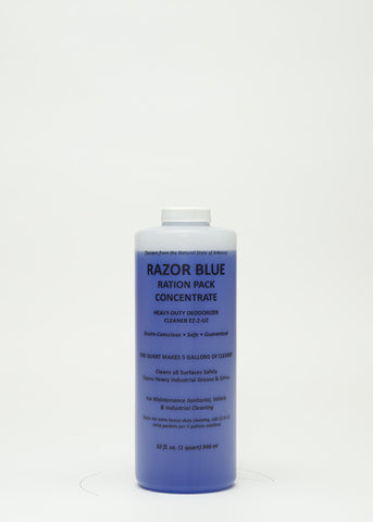 Razor Blue Ration Pack/Heavy Duty (16 bottles/1 case)