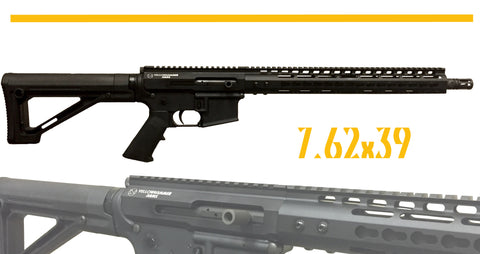 7.62x39 Side Charging YhA-15 Complete AR-15 Rifle