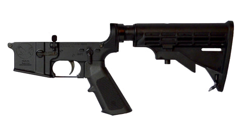 YhA-15 Complete AR-15 Lower Receiver