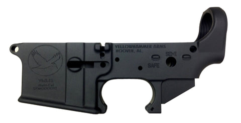 YhA-15 Stripped AR-15 Lower Receiver