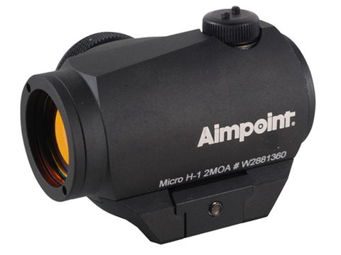 Aimpoint Micro H-1 (2 MOA with standard mount)