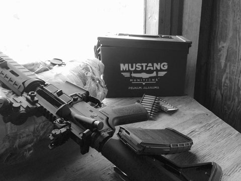 Bulk Bama RIFLE Ammo: 1,000 rnds Mustang Munitions