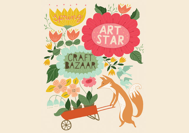 2018 Spring Art Star Craft Bazaar, Art Star Craft Bazaar, Spring Philly Events, Philly, Katey Mangels