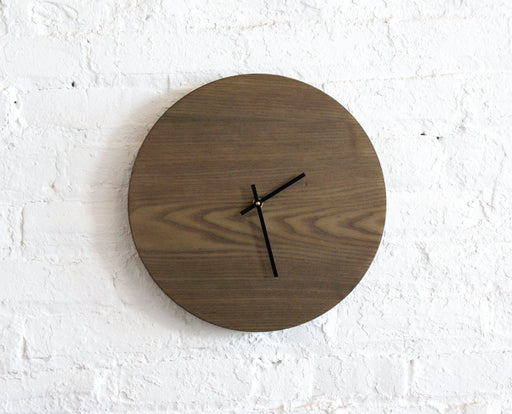 Medium Clock - Oxidized Ash