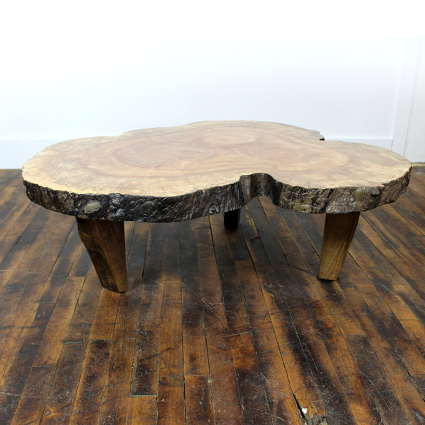 Spalted Maple Crosscut Coffee Table