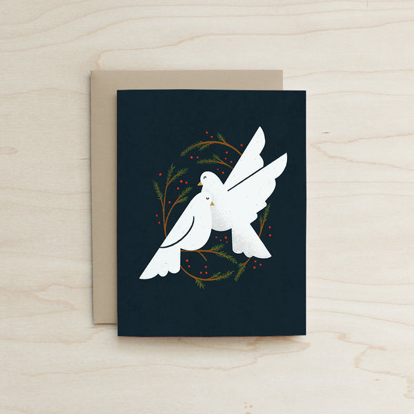 Peaceful Doves Card