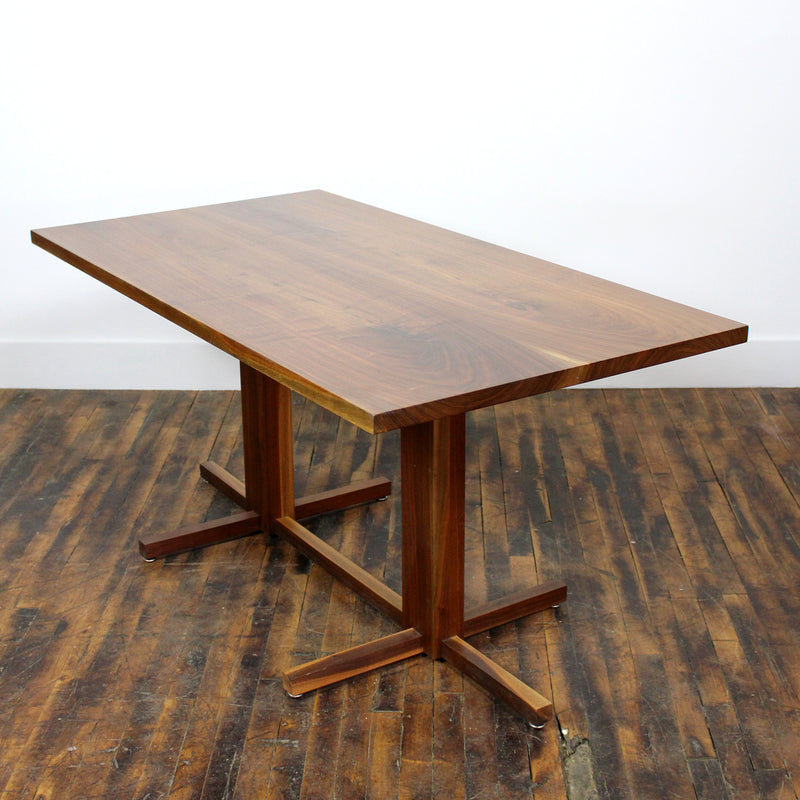 Book-Matched Walnut Table