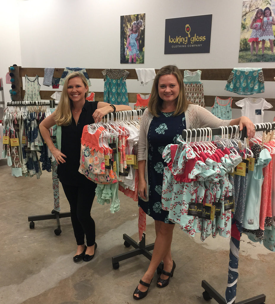 Looking Glass Clothing Company Co Founders Jen Nicks and Leigh Ann Conner