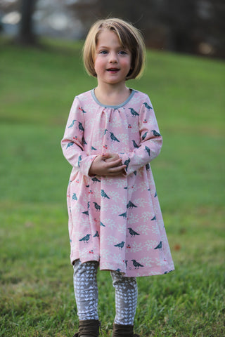 Lovebird Swing Dress