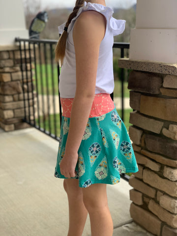 Showers and Flowers Skirt