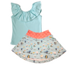 Image of Mushroom Skirt and Tank Top SET