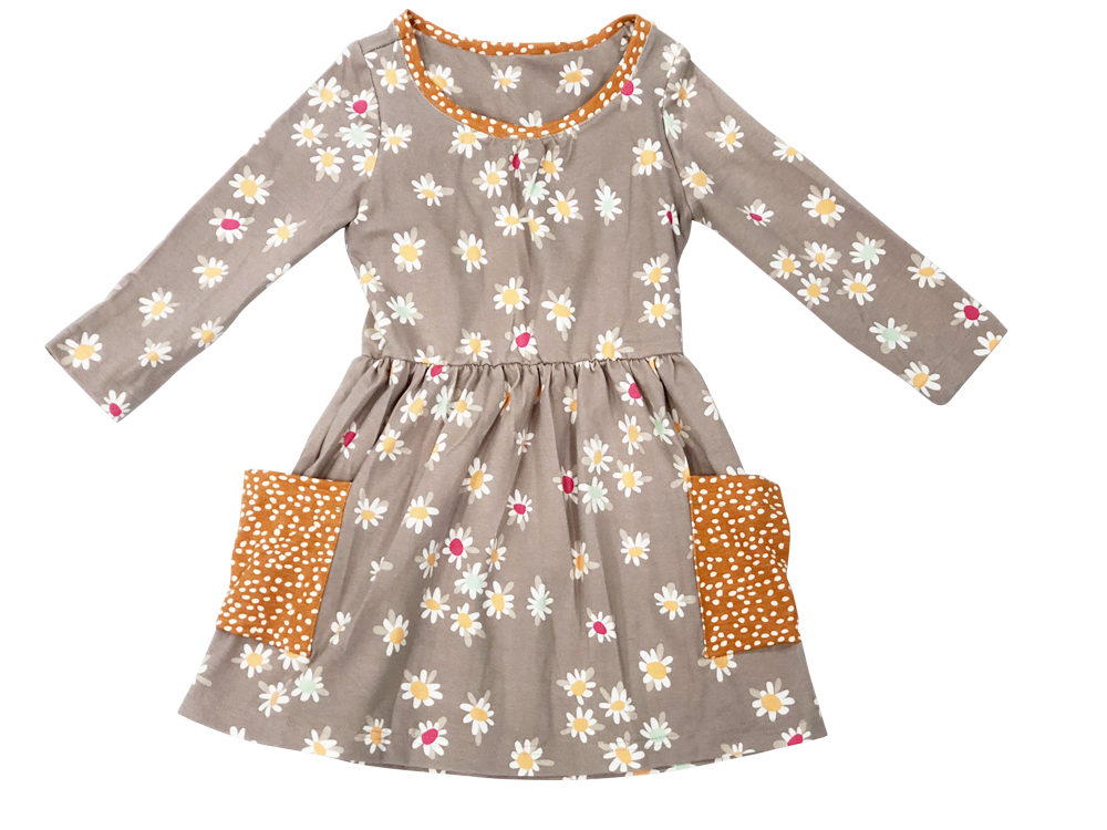 Daisy Dot Dress
