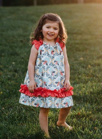 Bees Knees Ruffle Dress