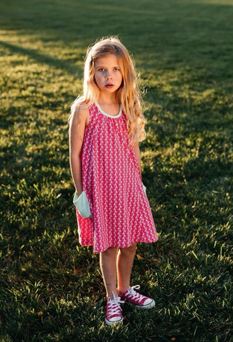Pink Migration Swing Dress