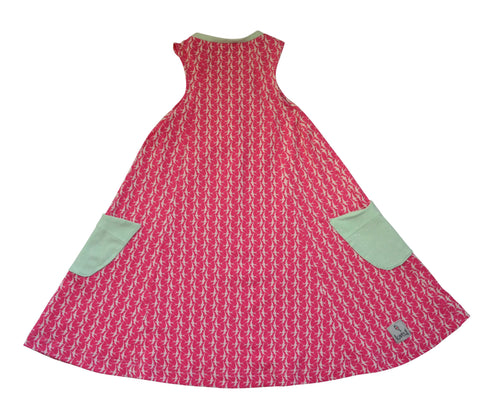 Dress - Pink Migration Swing Dress