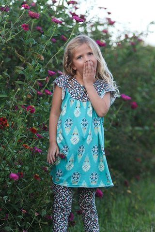 Showers and Flowers Flutter Dress