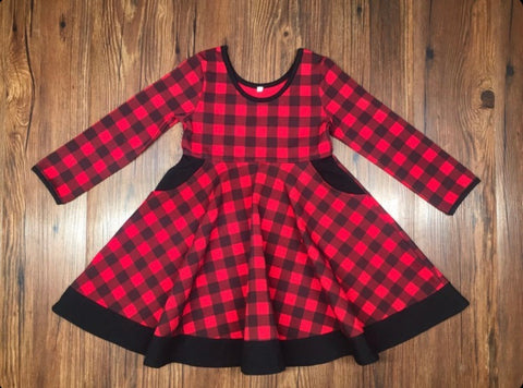 Holiday Twirl Dress -Preorder