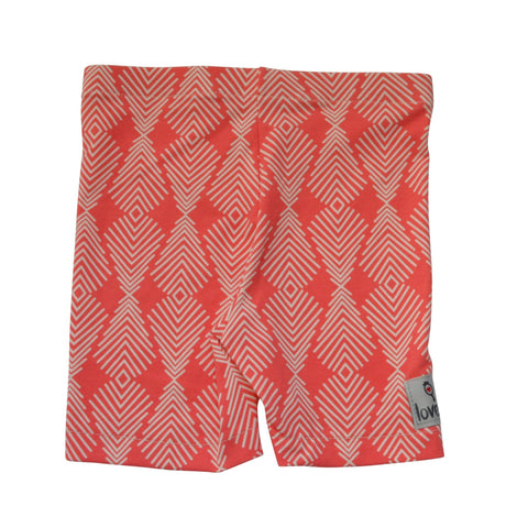 Coral Feather Shorts