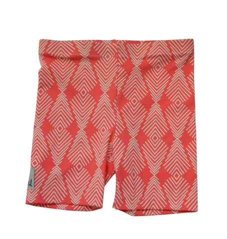 Legging - Coral Feather Shorts
