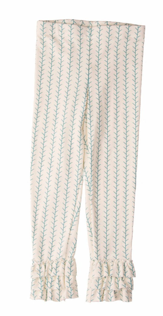 Legging - Hiking Sticks Ruffle Legging