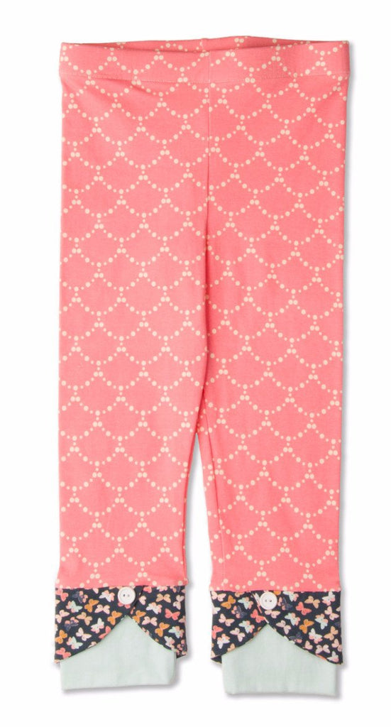 Legging - Little Creek Scallop Capri Legging