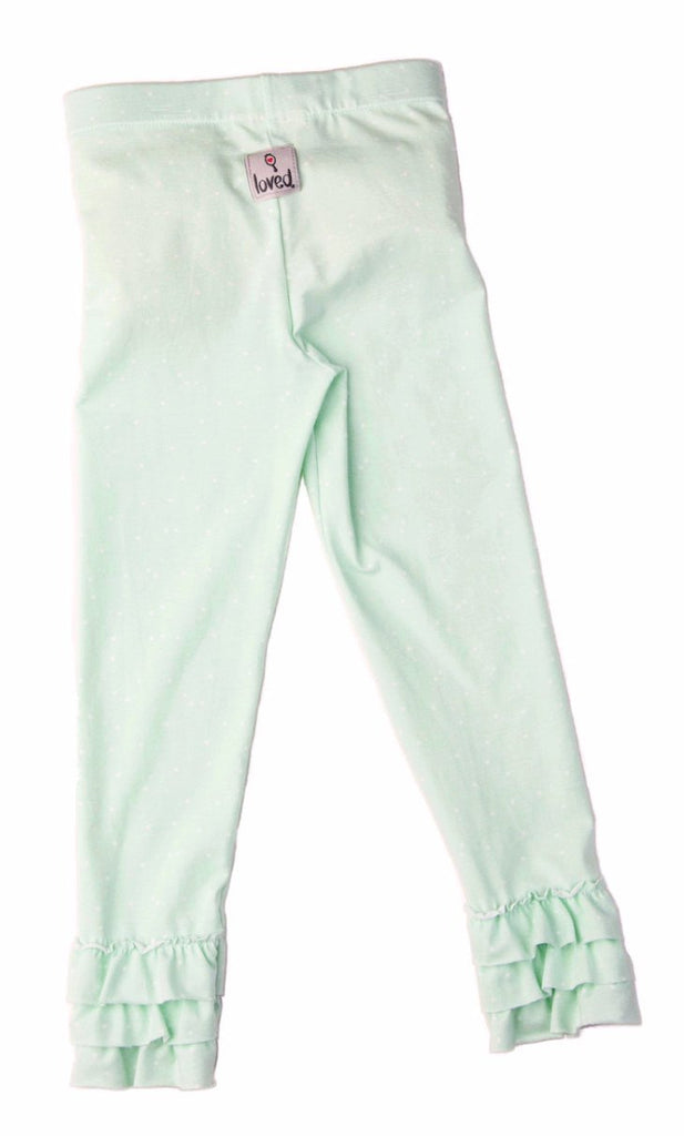 Legging - Morning Dew Ruffle Legging