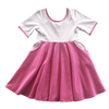 Image of Pink Dot Twirl Dress