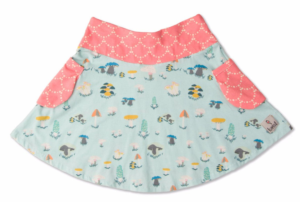 Skirt - Forager Bubble Pocket Skirt
