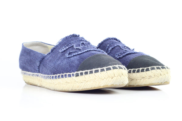 CHANEL DENIM ESPADRILLE